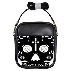 Sugar Skull Girl s Sling Bag