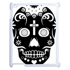 Sugar Skull Apple Ipad 2 Case (white)