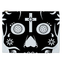 Sugar Skull Cosmetic Bag (XXL)