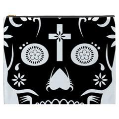 Sugar Skull Cosmetic Bag (XXXL)