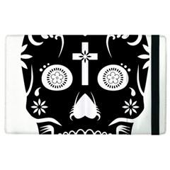 Sugar Skull Apple iPad 2 Flip Case