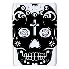 Sugar Skull Apple Ipad Mini Hardshell Case