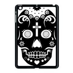 Sugar Skull Apple iPad Mini Case (Black)