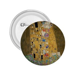 Klimt   The Kiss 2 25  Button