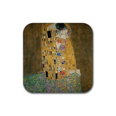 Klimt   The Kiss Drink Coasters 4 Pack (square)