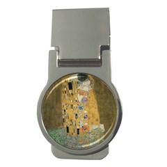 Klimt - The Kiss Money Clip (Round)