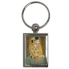 Klimt - The Kiss Key Chain (Rectangle)