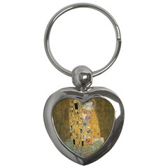 Klimt - The Kiss Key Chain (Heart)