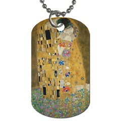 Klimt - The Kiss Dog Tag (One Sided)