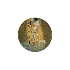 Klimt - The Kiss Golf Ball Marker