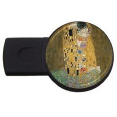 Klimt - The Kiss 1GB USB Flash Drive (Round)