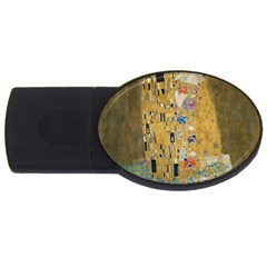 Klimt - The Kiss 2GB USB Flash Drive (Oval)