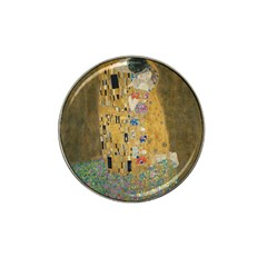 Klimt   The Kiss Golf Ball Marker 4 Pack (for Hat Clip)
