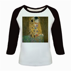Klimt - The Kiss Women s Long Cap Sleeve T-Shirt