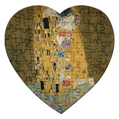 Klimt - The Kiss Jigsaw Puzzle (Heart)