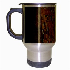 Klimt - The Kiss Travel Mug (Silver Gray)