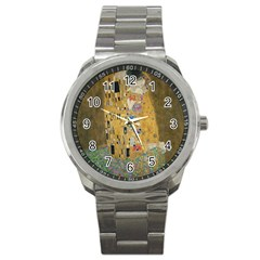 Klimt   The Kiss Sport Metal Watch