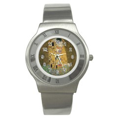 Klimt   The Kiss Stainless Steel Watch (unisex)