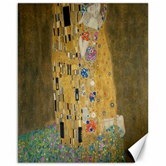 Klimt - The Kiss Canvas 16  x 20  (Unframed)
