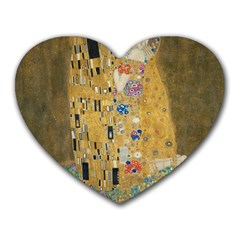 Klimt - The Kiss Mouse Pad (Heart)