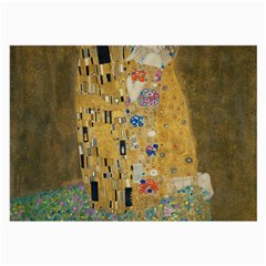 Klimt   The Kiss Glasses Cloth (large, Two Sided)