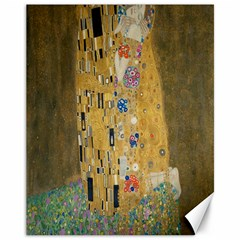 Klimt - The Kiss Canvas 11  x 14  9 (Unframed)