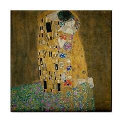 Klimt - The Kiss Face Towel