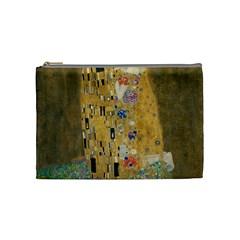 Klimt   The Kiss Cosmetic Bag (medium)