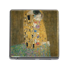 Klimt   The Kiss Memory Card Reader With Storage (square)