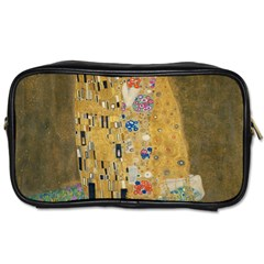Klimt   The Kiss Travel Toiletry Bag (two Sides)