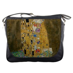 Klimt   The Kiss Messenger Bag