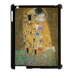 Klimt - The Kiss Apple iPad 3/4 Case (Black)