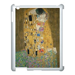 Klimt - The Kiss Apple iPad 3/4 Case (White)