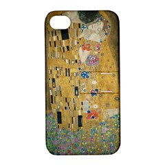 Klimt   The Kiss Apple Iphone 4/4s Hardshell Case With Stand