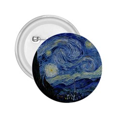 Starry night 2.25  Button