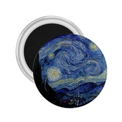 Starry Night 2 25  Button Magnet
