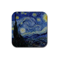 Starry night Drink Coasters 4 Pack (Square)