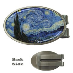 Starry night Money Clip (Oval)
