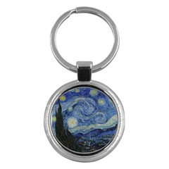 Starry Night Key Chain (round)