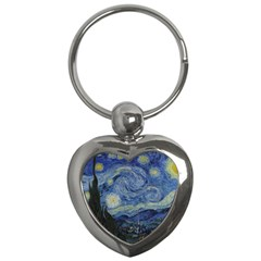 Starry night Key Chain (Heart)