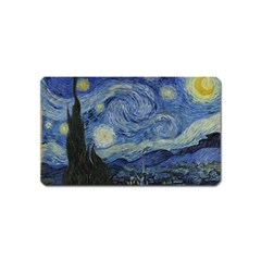 Starry night Magnet (Name Card)