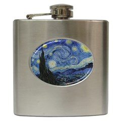 Starry night Hip Flask