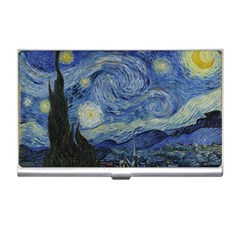 Starry night Business Card Holder