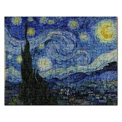 Starry night Jigsaw Puzzle (Rectangle)