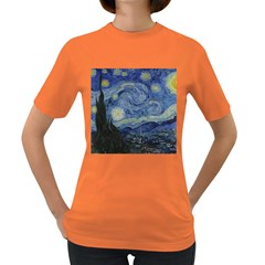 Starry night Womens' T-shirt (Colored)