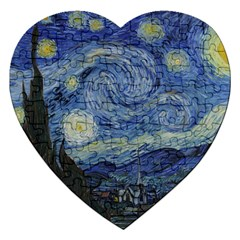 Starry night Jigsaw Puzzle (Heart)