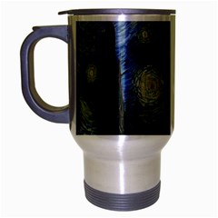 Starry night Travel Mug (Silver Gray)