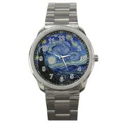 Starry Night Sport Metal Watch