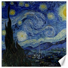 Starry night Canvas 12  x 12  (Unframed)