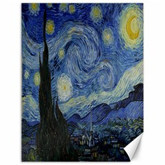 Starry Night Canvas 12  X 16  (unframed)